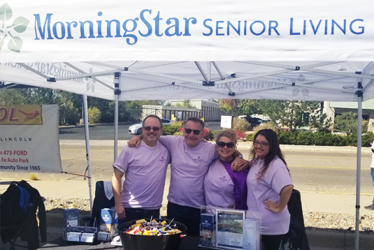 "MorningStar of Santa Fe at ""Cars for Kids"" benefiting the Children's Miracle Network"