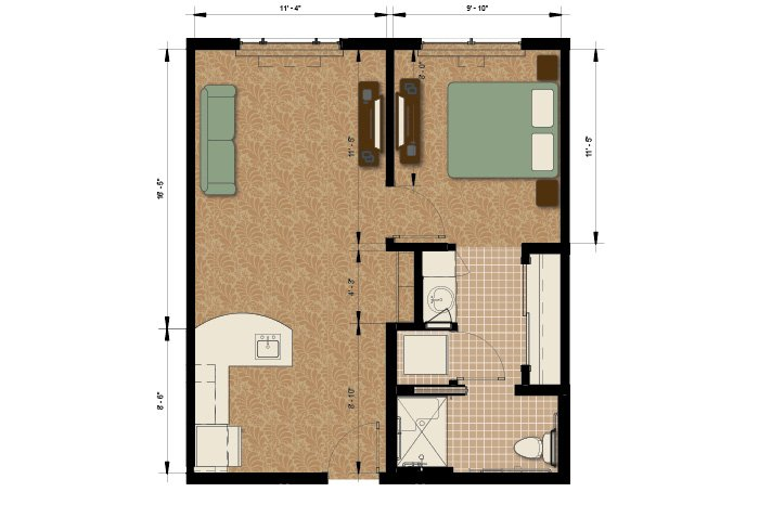 Senior living des moines see the best at morningstar at for Jordan built homes floor plans