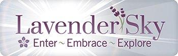 lavender sky. enter, embrace, explore