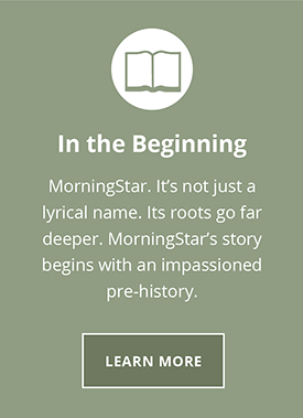 In the Beginning. MorningStar. It's not just a lyrical name. It's roots go far deeper. MorningStars story begins with an impassioned pre-history