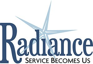 Graphic that says Radiance Service Becomes Us