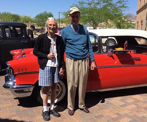 Wheels Wings MorningStar Senior Living - Fountain hills car show