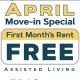 April Move-In Special