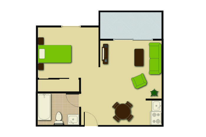 Floor Plan Alcove