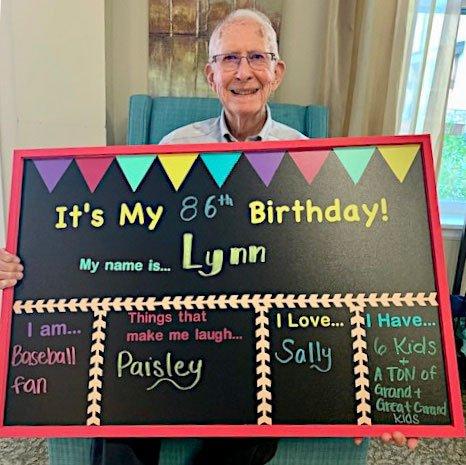 Lynn's 86th Birthday!