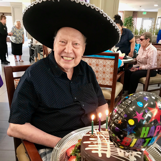 Ron's 91st Birthday!