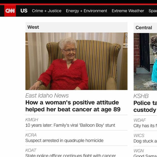 Life Lessons on CNN