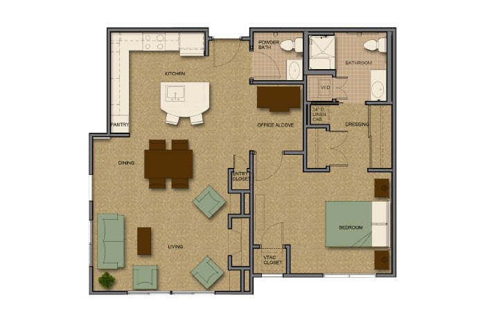 Assisted Living Facility Floor Plans: Senior Assisted Living Facilities