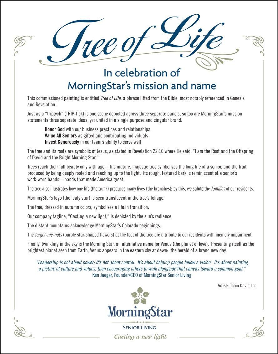 In The Beginning Morningstar Senior Living