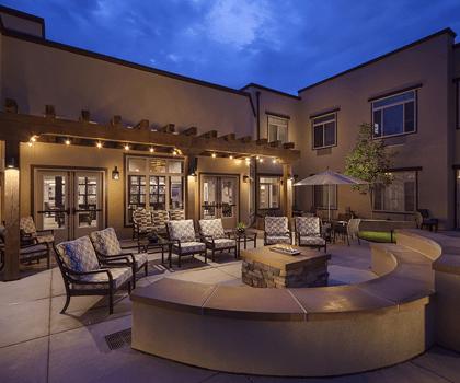 Rio Rancho - Courtyard