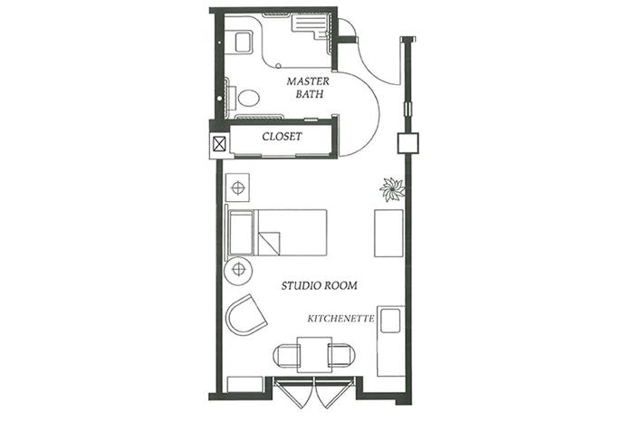 Floor Plan Studio Option 1